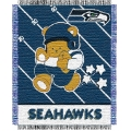 "Seattle Seahawks NFL Baby 36"" x 46"" Triple Woven Jacquard Throw"