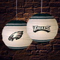 "Philadelphia Eagles NFL 18"" Rice Paper Lamp"