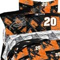 Tony Stewart #20 Twin Sheet Set