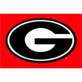 "Georgia Bulldogs NCAA College 20"" x 30"" Acrylic Tufted Rug"