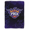 "Phoenix Suns NBA ""Tie Dye"" 60"" x 80"" Super Plush Throw"