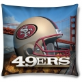 "San Francisco 49ers NFL 18"" Photo-Real Pillow"