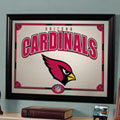 Arizona Cardinals NFL Framed Glass Mirror