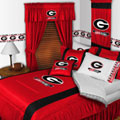 Univ of Georgia Bulldogs Side Lines Comforter / Sheet Set