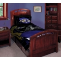 "Baltimore Ravens NFL Twin Comforter Set 63"" x 86"""