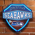 Seattle Seahawks NFL Neon Shield Wall Lamp
