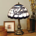 Tampa Bay Lightning NHL Stained Glass Tiffany Table Lamp