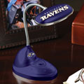 Baltimore Ravens NFL LED Desk Lamp
