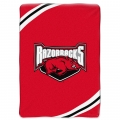 "Arkansas Razorbacks College ""Force"" 60"" x 80"" Super Plush Throw"