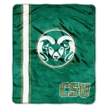 "Colorado State Rams College ""Jersey"" 50"" x 60"" Raschel Throw"