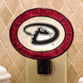 Arizona Diamondbacks MLB Art Glass Nightlight