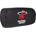 "Miami Heat NBA 14"" x 8"" Beaded Spandex Bolster Pillow"
