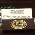 Baltimore Ravens NFL Business Card Holder