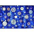 Primary Bubbles Rug (6' x 9')