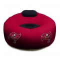 Tampa Bay Buccaneers NFL Vinyl Inflatable Chair w/ faux suede cushions