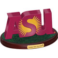 Arizona State Sun Devils NCAA College Logo Figurine