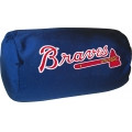 "Atlanta Braves MLB 14"" x 8"" Beaded Spandex Bolster Pillow"