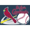 "St. Louis Cardinals MLB 20"" x 30"" Acrylic Tufted Rug"