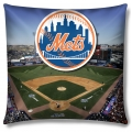 "New York Mets MLB ""Stadium"" 18""x18"" Dye Sublimation Pillow"