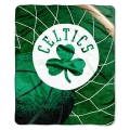"Boston Celtics   NBA ""Reflect"" 50"" x 60"" Super Plush Throw"