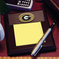 Georgia UGA Bulldogs NCAA College Memo Pad Holder