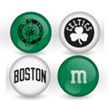 Boston Celtics Custom Printed NBA M&M's With Team Logo