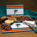 Miami Dolphins NFL Glass Cutting Board Set