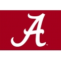 "Alabama Crimson Tide NCAA College 39"" x 59"" Acrylic Tufted Rug"