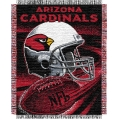 "Arizona Cardinals NFL ""Spiral"" 48"" x 60"" Triple Woven Jacquard Throw"