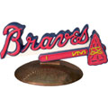 Atlanta Braves MLB Logo Figurine