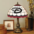 Arizona Diamondbacks MLB Stained Glass Tiffany Table Lamp