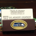 Seattle Seahawks NFL Business Card Holder