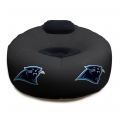 Carolina Panthers NFL Vinyl Inflatable Chair w/ faux suede cushions