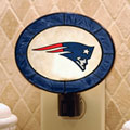 New England Patriots NFL Art Glass Nightlight