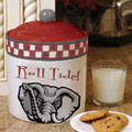 Alabama Crimson Tide NCAA College Gameday Ceramic Cookie Jar
