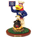 Kansas Jayhawks NCAA College Soup of the Day Mascot Figurine