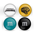 Jacksonville Jaguars Custom Printed NFL M&M's With Team Logo
