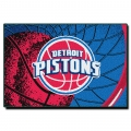 "Detroit Pistons  NBA 39"" x 59"" Tufted Rug"