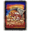 "San Francisco 49ers NFL ""Home Field Advantage"" 48"" x 60"" Tapestry Throw"