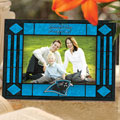 "Carolina Panthers NFL 6.5"" x 9"" Horizontal Art-Glass Frame"