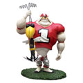 Georgia UGA Bulldogs NCAA College Rivalry Figurine