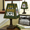 Green Bay Packers NFL Art Glass Table Lamp