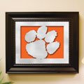 Clemson Tigers NCAA College Laser Cut Framed Logo Wall Art