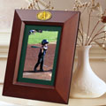 "Oakland Athletics MLB 10"" x 8"" Brown Vertical Picture Frame"