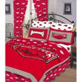 Arkansas Razorbacks 100% Cotton Sateen Queen Bed-In-A-Bag