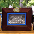 "New York Rangers NHL 8"" x 10"" Brown Horizontal Picture Frame"