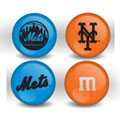 New York Mets Custom Printed MLB M&M's With Team Logo