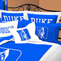 Duke Blue Devils 100% Cotton Sateen Standard Pillow Sham - Blue