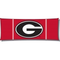 "Georgia Bulldogs NCAA College 19"" x 54"" Body Pillow"