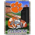 "Clemson Tigers NCAA College ""Home Field Advantage"" 48""x 60"" Tapestry Throw"